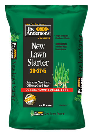 The Andersons New Lawn Starter Fertilizer