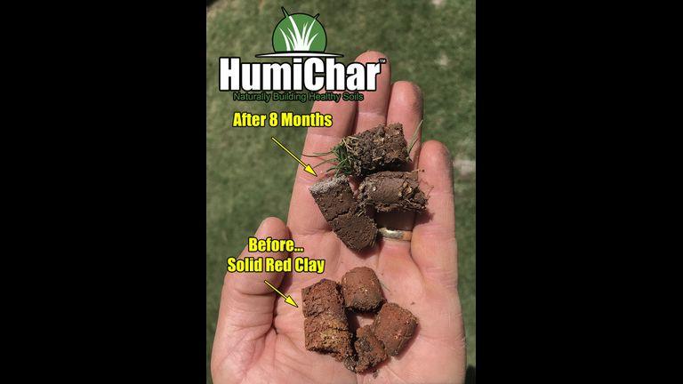 Humichar testing 800